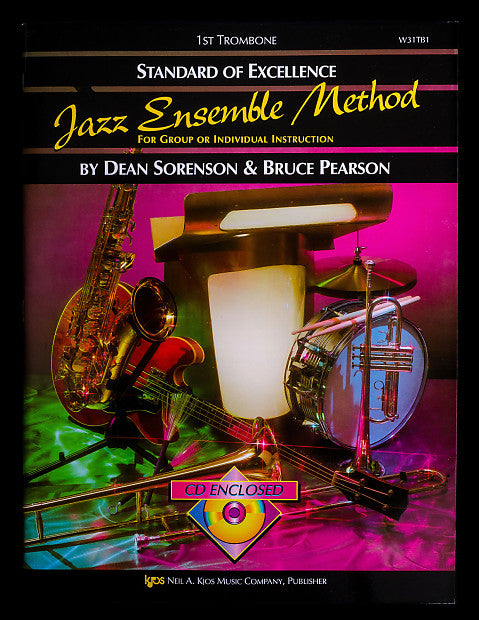 Standard of Excellence Jazz Ensemble Method for 1st Trombone