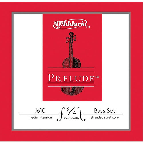 3/4 BASS SET MEDIUM, PRELUDE