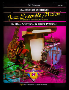 Standard of Excellence Jazz Ensemble Method for 3rd Trombone