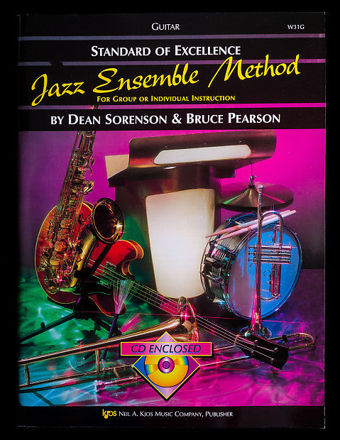 Standard of Excellence Jazz Ensemble Method for Guitar