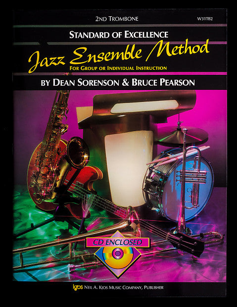 Standard of Excellence Jazz Ensemble Method for 2nd Trombone