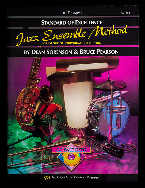 Standard of Excellence Jazz Ensemble Method for 4th Trumpet