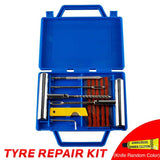 11Pcs Motorcycle Heavy Duty Tubeless Tire Puncture Repair Kit