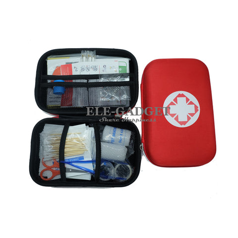 17 Items/93pcs Portable Travel First Aid Kit