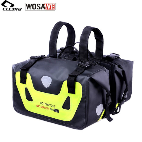 50L Motorcycle Waterproof Saddlebags