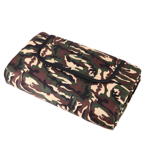 Outdoor Camo Folding Camping Blanket 150x180cm