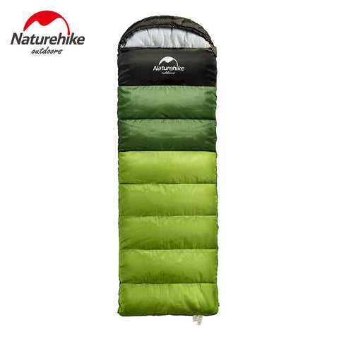 Naturehike Factory Outdoor travel sleeping bag spring Autumn winter warm portable camping adult indoor noon break sleeping bag