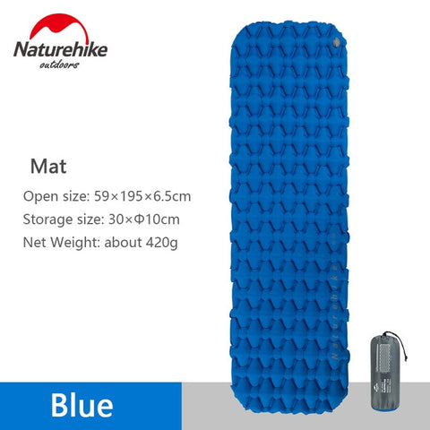 Naturehike Outdoor Inflatable Mattress Sleeping Pad