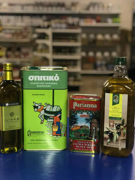 Extra Virgin Olive Oils and Pomace Oil