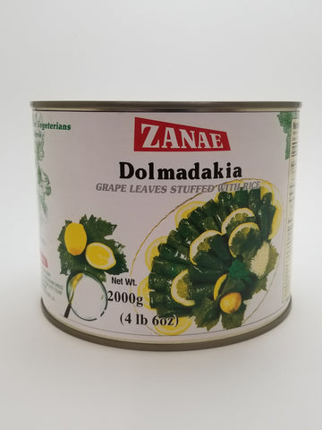 Zanae Dolmades 4lb - Nick's International Foods