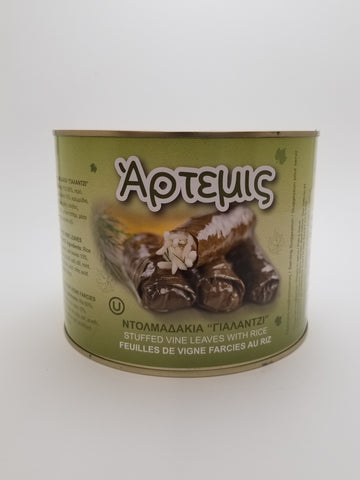 Artemis Dolmades 4lb - Nick's International Foods