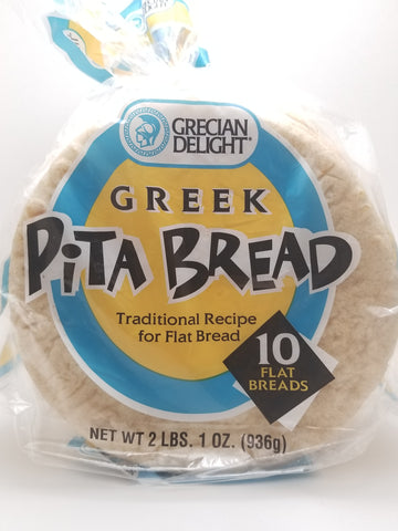 Pita Bread 10ct - Nick's International Foods
