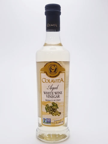 Colavita Aged White Wine Vinegar 500ml - Nick's International Foods