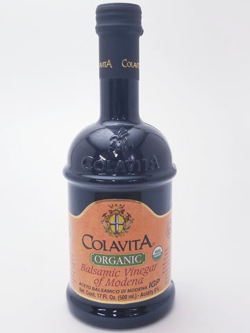 Colavita Organic Balsamic Vinegar 17oz - Nick's International Foods