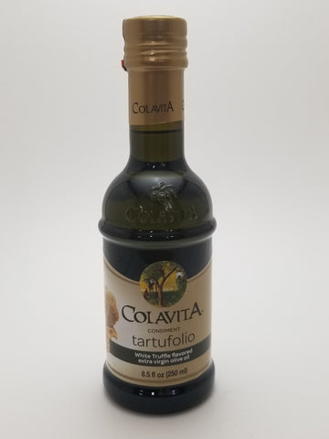 Colavita Truffle Flavored Olive Oil 250 Milliliter Glass Bottle