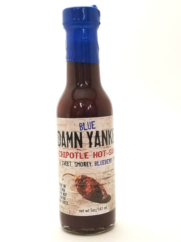 Damn Yankee Blueberry Smack Hot Sauce 5oz - Nick's International Foods