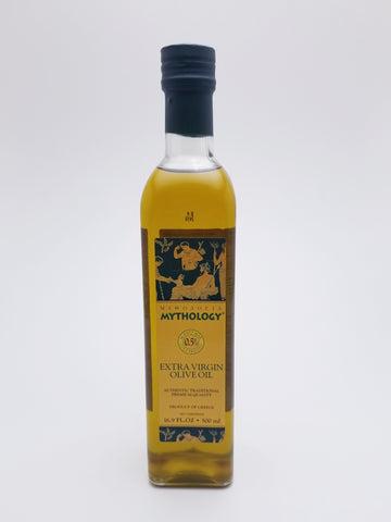 Mythology Extra Virgin Olive Oil 500 Milliliter Glass Bottle