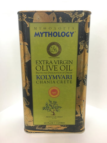 Mythology Extra Virgin Olive Oil 3 Liter