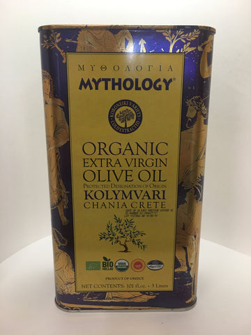 Mythology Organic Extra Virgin Olive Oil 3 Liter