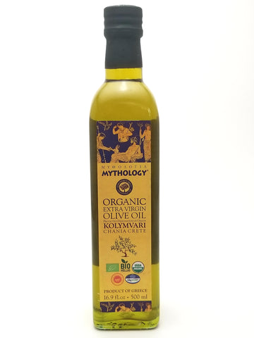 Mythology Organic Extra Virgin Olive Oil 500ml - Nick's International Foods