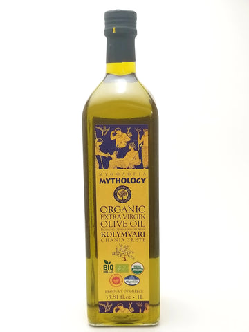 Mythology Organic Extra Virgin Olive Oil 1L - Nick's International Foods