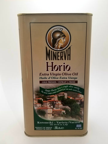 Minerva Horio Extra Virgin Olive Oil 3 Liter Tin
