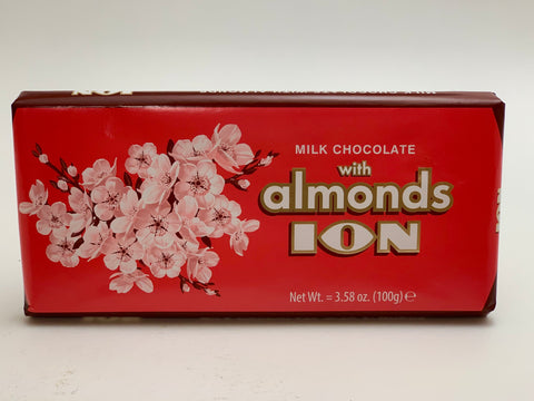 ION Milk Chocolate w/Almonds 100g - Nick's International Foods