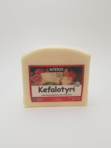 Krinos Kefalotyri Cheese Wedge 200g