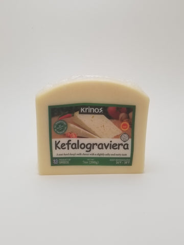 Krinos Kefalograviera 200g Wedge - Nick's International Foods