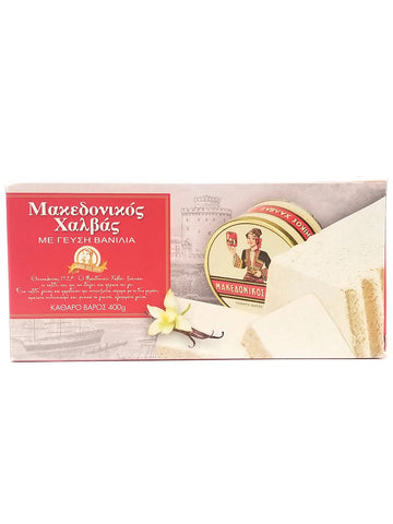 Macedonian Halva Vanilla Tray 400g - Nick's International Foods