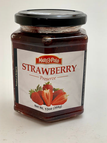 Marco Polo Strawberry Preserve 13oz