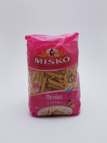 Misko Greek Penne Pasta 500g - Nick's International Foods