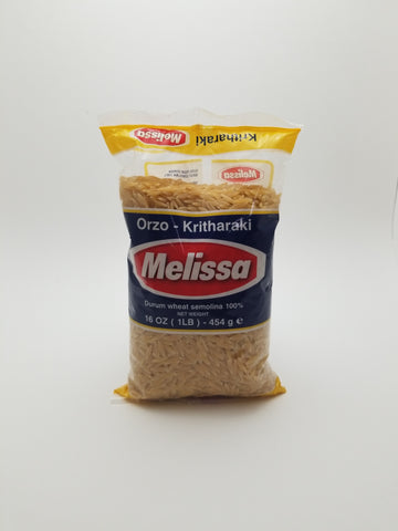 Melissa Greek Orzo Pasta 1lb. - Nick's International Foods