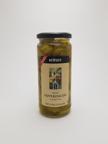 Krinos Pepperoncini 1lb - Nick's International Foods