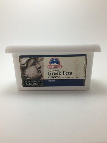 Olympus Greek Feta Cheese in Brine 400g - Nick's International Foods
