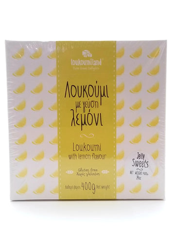 Loukoumi with Lemon Flavor 400g
