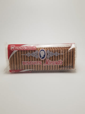 Papadopoulos Miranda Biscuits 250g - Nick's International Foods