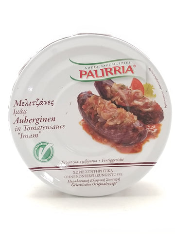 Palirria Eggplants in Tomato Sauce 280g - Nick's International Foods
