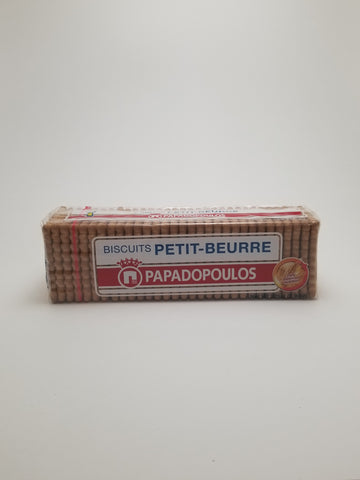 Papadopoulos Petit Beurre Biscuits 225g - Nick's International Foods