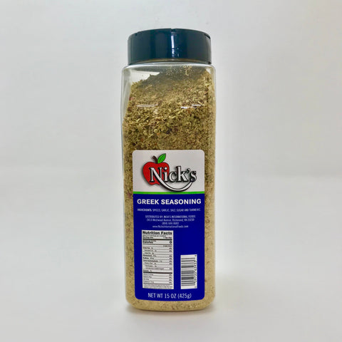 Nick's Greek Seasoning 15oz