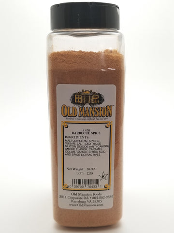 Barbecue Spice 20oz - Nick's International Foods