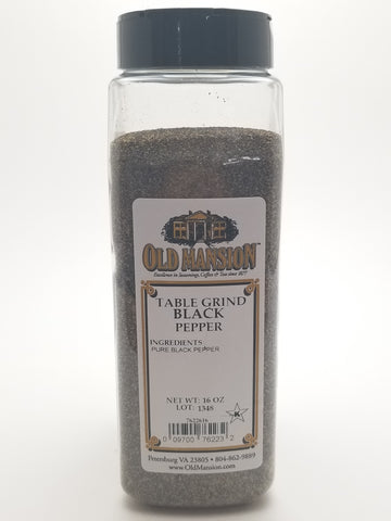 Black Pepper Table Grind 16oz - Nick's International Foods
