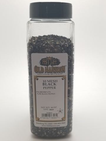Black Pepper Butcher Grind 16oz - Nick's International Foods