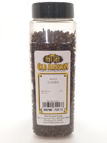 Cloves Whole 12oz - Nick's International Foods