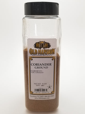 Coriander Ground 11oz - Nick's International Foods