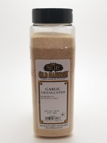 Garlic Granulated 24oz - Nick's International Foods