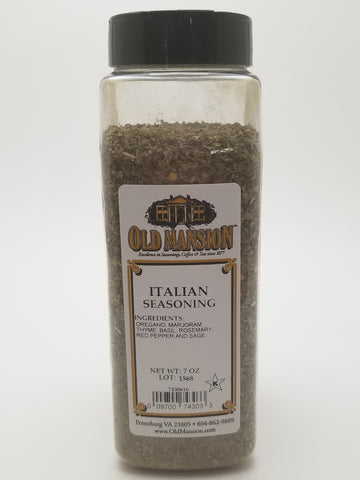 Italian Seasoning 7oz - Nick's International Foods
