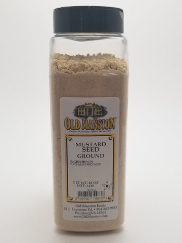 Mustard Ground 16oz - Nick's International Foods