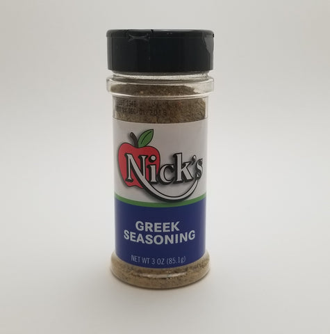 Nick's Greek Seasoning 3oz - Nick's International Foods
