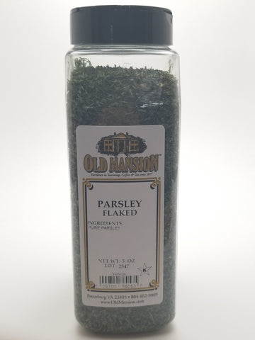 Parsley Flaked 5oz - Nick's International Foods